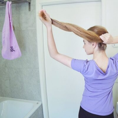 Hair Jazz la serviette-turban!