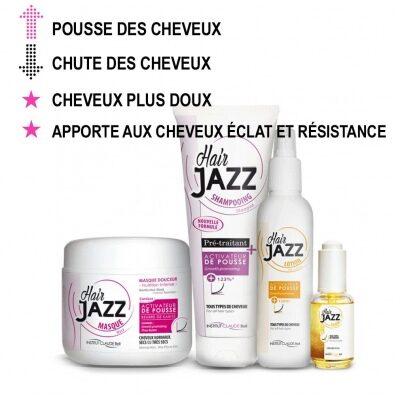 Hair Jazz Shampooing, Lotion, Masque et Serum – pour les cheveux secs !