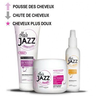 HAIR JAZZ Shampooing, Lotion et Masque – Pour la pousse des cheveux normaux!