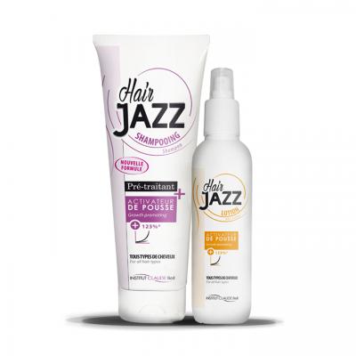 Hair Jazz Shampooing et Lotion – Accélérez la croissance de vos cheveux !