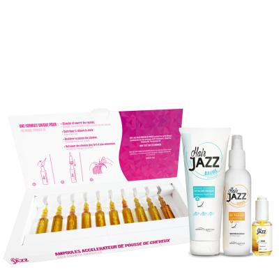 Hair Jazz set pour le lissage à la kératine