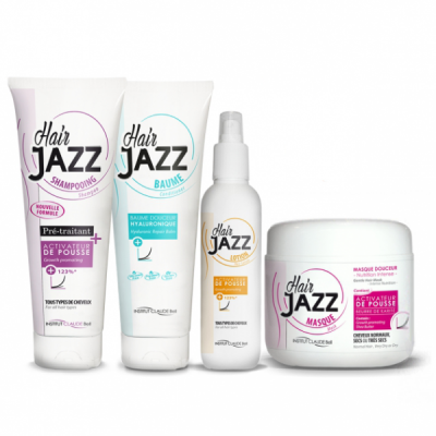 HAIR JAZZ Shampooing, Lotion, Baume et Masque